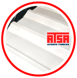 Lámina de acero R72 pintada