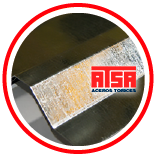 Lámina de acero R72 zintro