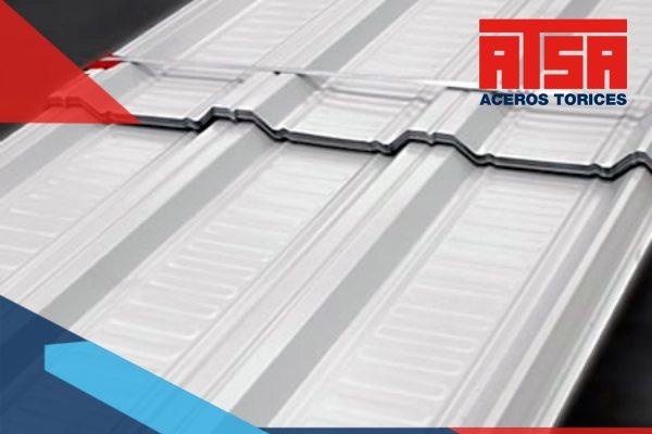 Es la lámina de acero acanalada modelo RN-100/35 que cuenta con este tipo de acanalado especial, que tiene de canales más amplios.